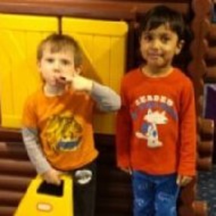 Andrew  and rishi Our Hero